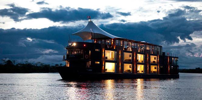 Cruise On The Amazon
